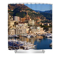 Monte Carlo Shower Curtain by Tom Prendergast