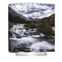 Monte Cristo Creek Shower Curtain