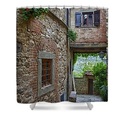 Montefioralle Tuscany 2 Shower Curtain