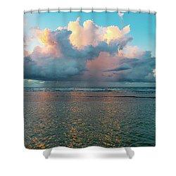 Montego Bay Sunset Shower Curtain