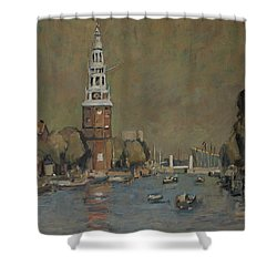 Montelbaanstoren Amsterdam Shower Curtain