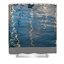 Shower Curtain featuring the photograph Monterey Reflection I Color by David Gordon