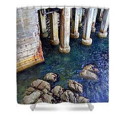 Montery Bay Shower Curtain