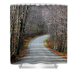 Montgomery Mountain Rd. Shower Curtain