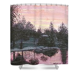 Montgomery Pond Shower Curtain