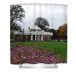 Monticello Shower Curtain by Eric Liller