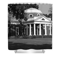 Monticello IIi Shower Curtain by Eric Liller