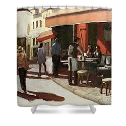 Montmarte Cafe Shower Curtain