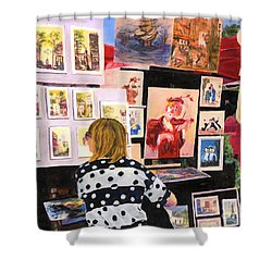 Montmartre Circa 1977 Shower Curtain