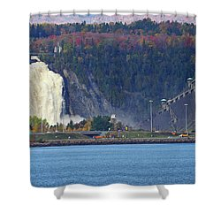 Montmorency Falls Shower Curtain