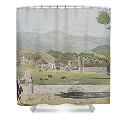 Montpelier Estates - St James Shower Curtain by James Hakewill