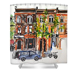 Montreal 1 Shower Curtain