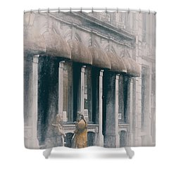Montreal Street Scene Shower Curtain