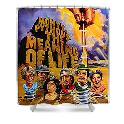 Monty Python Shower Curtain