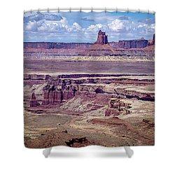 Monument Basin, Canyonlands Shower Curtain