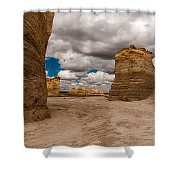 Monument Rocks Shower Curtain