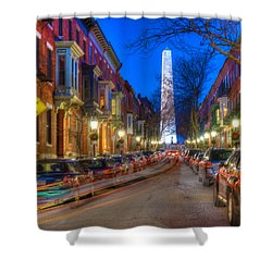 Monument Street Charlestown 023 Shower Curtain