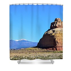 Monument To Time Shower Curtain