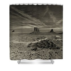 Monument Valley 2 Shower Curtain