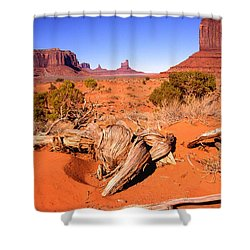 Monument Valley, Arizona, U S A Shower Curtain