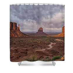 Monument Valley Mittens Az Dsc03662 Shower Curtain