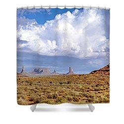 Monument Valley Mittens Shower Curtain