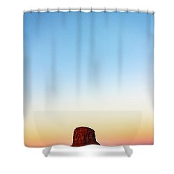 Monument Valley Morning Glory Shower Curtain