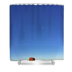Monument Valley Morning View Shower Curtain