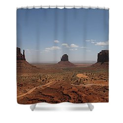 Monument Valley Navajo Park Shower Curtain