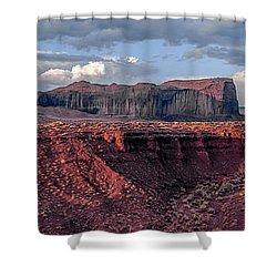 Monument Valley Sunrise Shower Curtain
