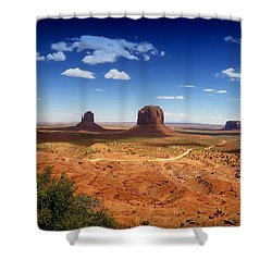 Monument Valley Utah Shower Curtain