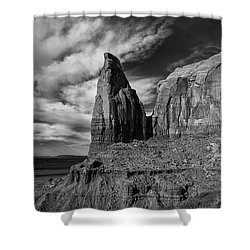 Monument Valley View Shower Curtain