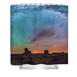 Monument Vally Dreams Shower Curtain