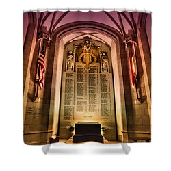 Monumental Shower Curtain by Evelina Kremsdorf
