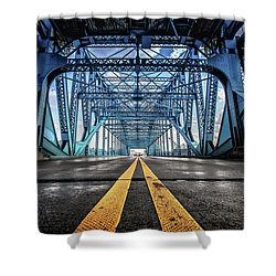 Monumental Market Street Shower Curtain