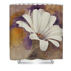 Mood Flower Shower Curtain by Gretchen Bjornson