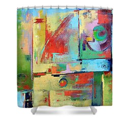 Mood Swing Shower Curtain