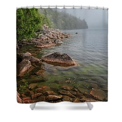 Moody And Magical Jordan Pond Shower Curtain