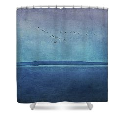Moody  Blues - A Landscape Shower Curtain