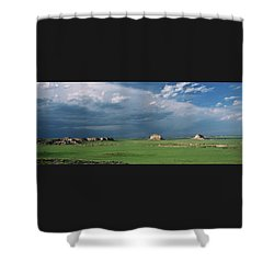Moody-buttes Shower Curtain