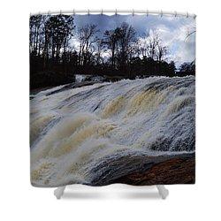 Moody Flow Shower Curtain by Warren Thompson