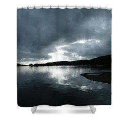 Moody Sky Shower Curtain