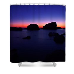 Moody Sunset Shower Curtain