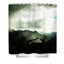 Moody Weather Shower Curtain