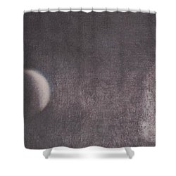 Moon And Friends Shower Curtain