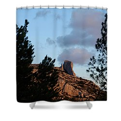 Moon And Rock Shower Curtain