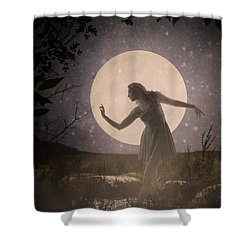 Moon Dance 001 Shower Curtain