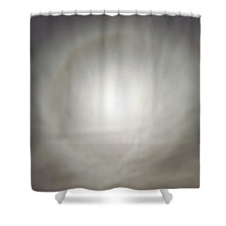 Shower Curtain featuring the photograph Moon Dog by Leland D Howard