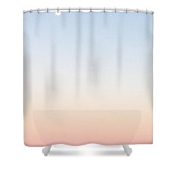 Moon In Twilight Sky Shower Curtain
