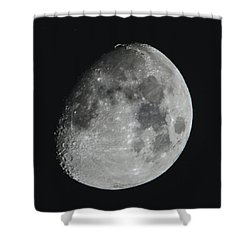 Moon On Day 12 Shower Curtain